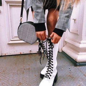 ✨HP✨Jeffery Campbell plasma boot